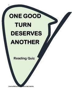 essay on one good turn deserves another Powerpoint slideshow about ' one good turn deserves another' - zoltin 2012 highlights: literary events including: dr martin luther king jr essay contest winner - february @ tonda elementary school.