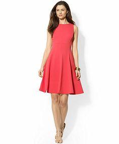 American Living Sleeveless A-Line Dress