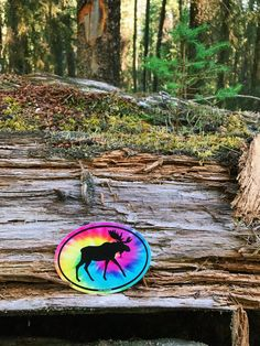 Psychedelic, Moose, Stickers, Accessories, Trippy, Mousse, Elk, Decals, Jewelry Accessories