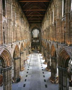 Glasgow Cathedral, Scotland.