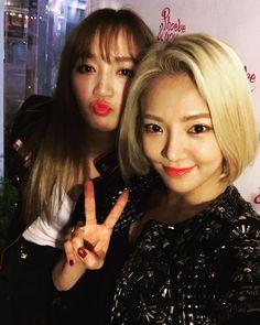 Miss A Jia & SNSD Hyoyeon
