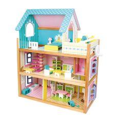 Residencia de juguetes de #madera #educacion #niños