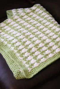 Shell Stitch Blanket