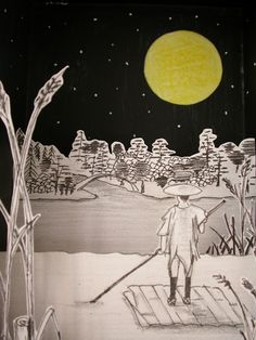 Paper theatre: El navegante nocturno