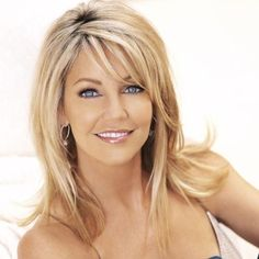 Heather Locklear - not curly but I still LOVE this hair style.
