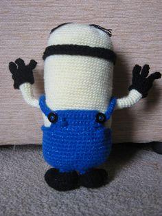 Minion Crochet Amigurumi by JustynaCrochet on Etsy