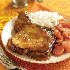Pork Chops with Apricot Sauce by All You. Take weeknight dinners from frumpy to fabulous by serving a flavorful pork chop dinner with simple sides.