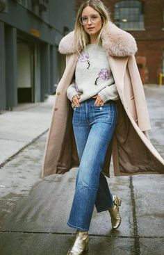 How to Stay Stylish When It's Arctic, According to Your Fave Bloggers via @WhoWhatWearUK