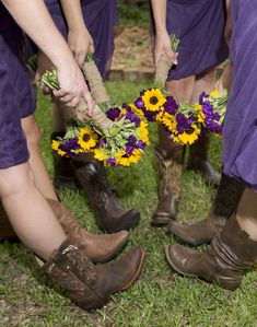 Raechel, the purple is pretty! The flowers are pretty too!! just an idea?