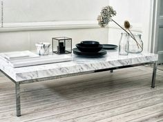 deco atelier: DIY: Marble table by Ikea