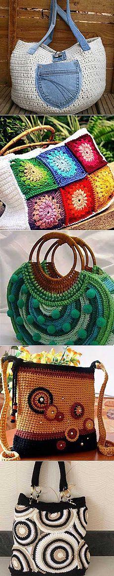 Elleri ile örgü çanta: 30 güzel fikirler | Housewives
