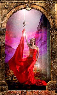 Justice (Tarot) by N-arteest.deviantart.com on @DeviantArt