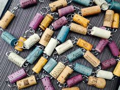 A Cork Garland - AND it's ideal for those synthetic corks that you can't necessarily use in some other projects!