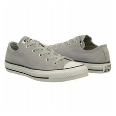 Converse Chuck Taylor Suede Low Top Sneaker | Women's - Lucky Stone Grey - FREE SHIPPING at Shoes.com