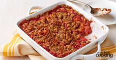 Strawberry-Rhubarb Crumble Pie #recipe