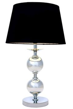 Love this for a bedroom. Silver Lamp, New Homes, Table Lamp, Lighting, Bedroom, Interior, Home Decor, Hem, Hollywood Regency