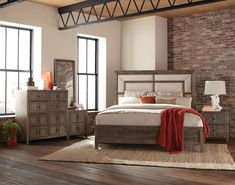 Bedroom ideas for modern to rustic schemes. Tips and tricks for creating a master bedroom decor. King Bedroom Sets, Cozy Bedroom, Bedroom Decor, Queen Bedroom, Dream Bedroom, Bedroom Furniture, Bedroom Ideas, Master Bedroom, Minimalist Bedroom