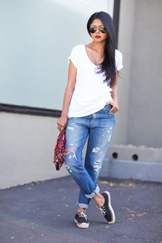21 White Tee Styles to Grace Your Most Hyped Summer Outing - Be Modish