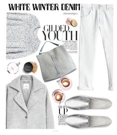 """""""winter is white"""" by nataskaz ❤ liked on Polyvore featuring Rebecca Taylor, MANGO, Jagger, FitFlop, Maison Margiela, Martha Stewart, Jane Iredale, Bare Escentuals and Chanel"""