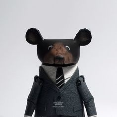 Leather bear No.021 by HeritageByHuns on Etsy
