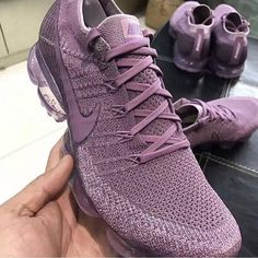 Next month will be the celebration of the iconic Nike Air Max series. While we all are celebrating the return of some classics, Nike is prepping us for Cute Sneakers, Cute Shoes, Me Too Shoes, Shoes Sneakers, Shoes Heels, Purple Sneakers, Purple Nikes, Sneakers Fashion, Fashion Shoes