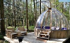 Luxury Domes in England | Glamping in the United Kingdom