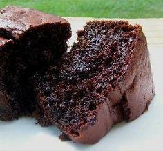 Triple Chocolate cake (boxed cake mix w/ chocolate chips, chocolate ...