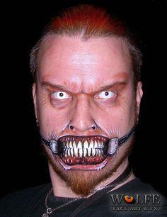 Kurt Drake of Wolfe Face Art & FX creates art using face paints by Wolfe Face Art & FX, via Flickr