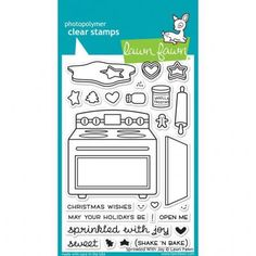 Clear Stamp Set Sprinkled With Joy