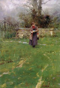Richard Schmid: The. Master. Painter. How does he say so much with so little?
