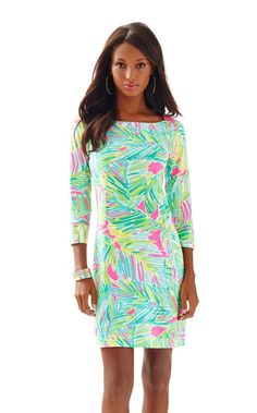 9cbf0e923fdce1 UPF 50 Sophie Dress - Lilly Pulitzer Tropical Pink Tropical Storm Daytime  Dresses, Day Dresses
