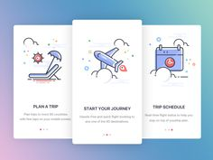 Onboarding Travel App by Balaji Govind #Design Popular #Dribbble #shots