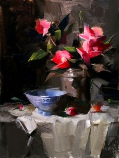 Demo at Lafayette 2014 3 --- Sold, painting by artist Qiang Huang