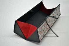 Stifteetui - Griffelbox - Federmäppchen Marmor rot - Etuis von Made-by-May - Stiftdosen & Etuis - Schreibbedarf & Zubehör - DaWanda