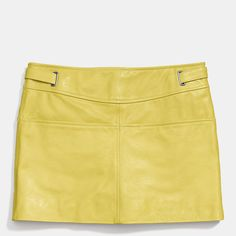 Leather Mod Skirt