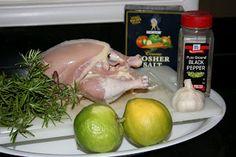 Crockpot lemon herb chicken...