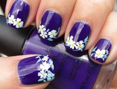 Marias Nail Art and Polish Blog: Emotional flowers