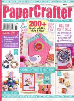 29 Best Card Making Magazines Images In 2019 Bird Cards