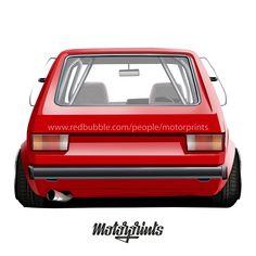 Volkswagen Golf 1 (red) #volkswagen #golf #golf1 #golfi #gti #typ17 #volkswagenlove #golflove #hatchback #car #carinstagram #cars #printshirt #carshirt #motorprints #printtoorder #carillustration #cardrawing #carapparel #carvector #shirts #automotivearts