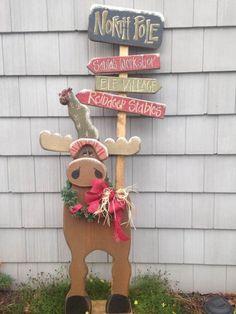 North Pole Moose $10.50