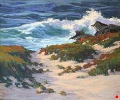 Of Land and Sea by Kim Lordier Pastel ~ 26 x 31