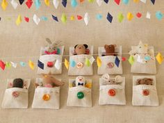 DIY Little toy sleepover.....how cute (wouldn't this be a cute favor for a sleepover party?)