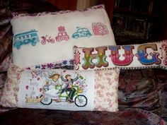 A nice selection of cushions make perfect gifts