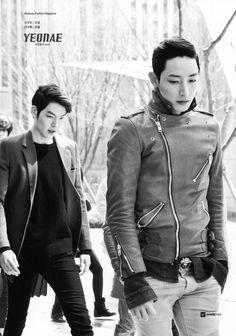 Lee Soo-hyuk and Kim Woo Bin
