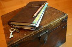 Midori Traveler's Notebook by Patrick Ng, via Flickr