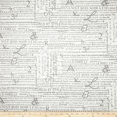 Grey Fabric yardage Upholstery Premier Prints by FabricSecret