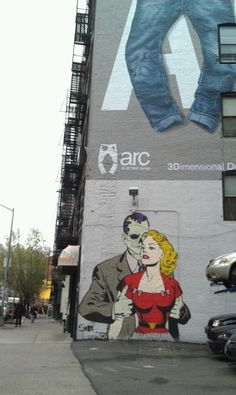 Lafayette Street, New York, NY. April 2012. New York Street, New York City, Lafayette Street, Lower Manhattan, Creative Pictures, Artist Painting, Urban Art, Soho, Pop Art