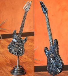 Trippy Welded Art Created From Pure Scrapheap Junk