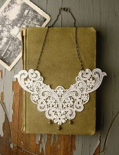 Doily Necklaces - Whiteowl Makes Dainty, Lacy Handmade Jewelry (GALLERY)