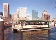 Baltimore Inner Harbor Water Taxi | Baltimore Inner Harbor